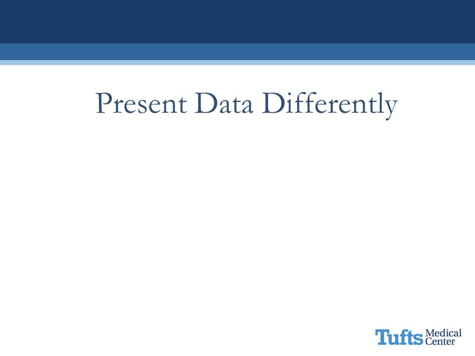 Present Data Differently