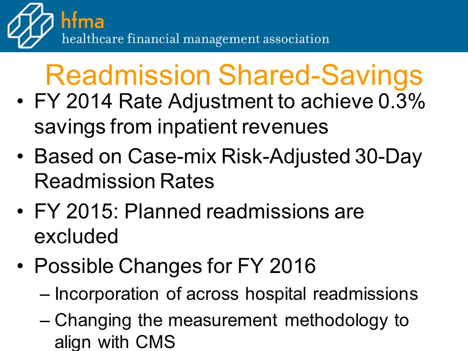 Readmission Shared-Savings