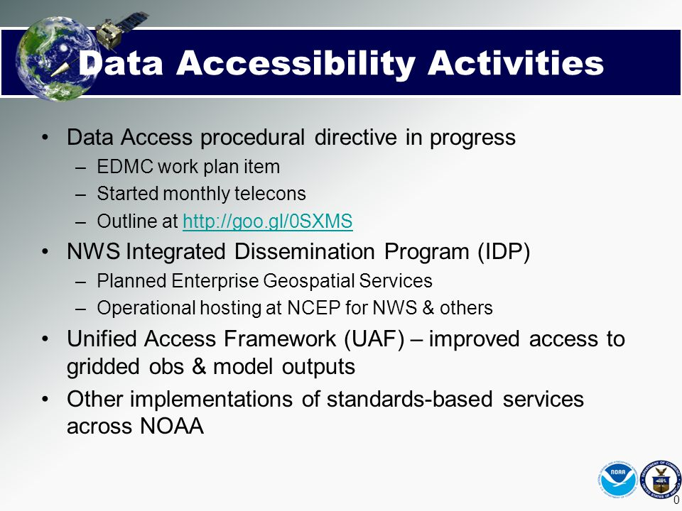 Data Accessibility Activities