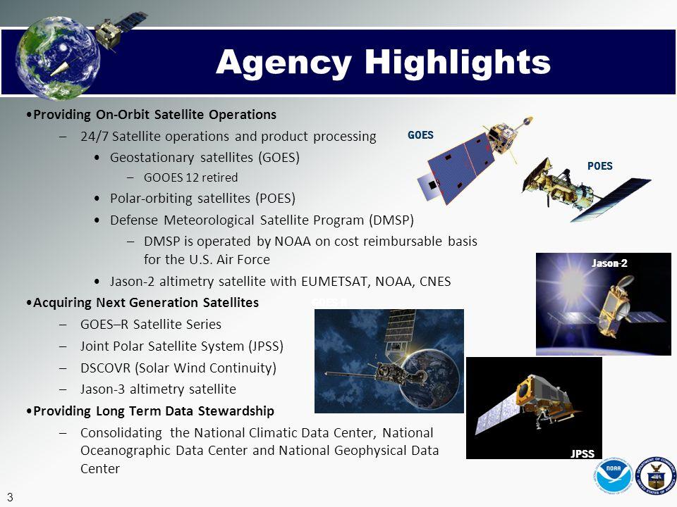 Agency Highlights Providing On-Orbit Satellite Operations