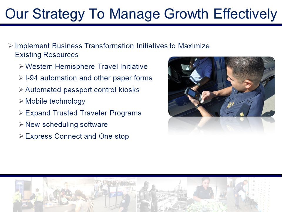 Our Strategy To Manage Growth Effectively