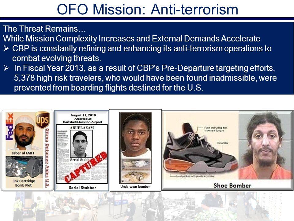 OFO Mission: Anti-terrorism