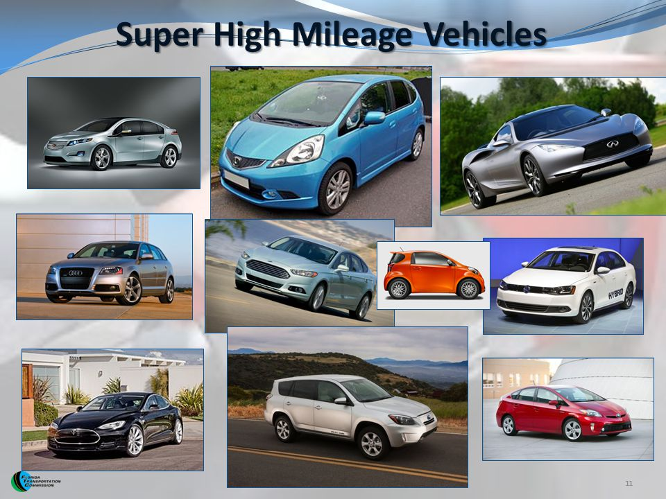 Super High Mileage Vehicles