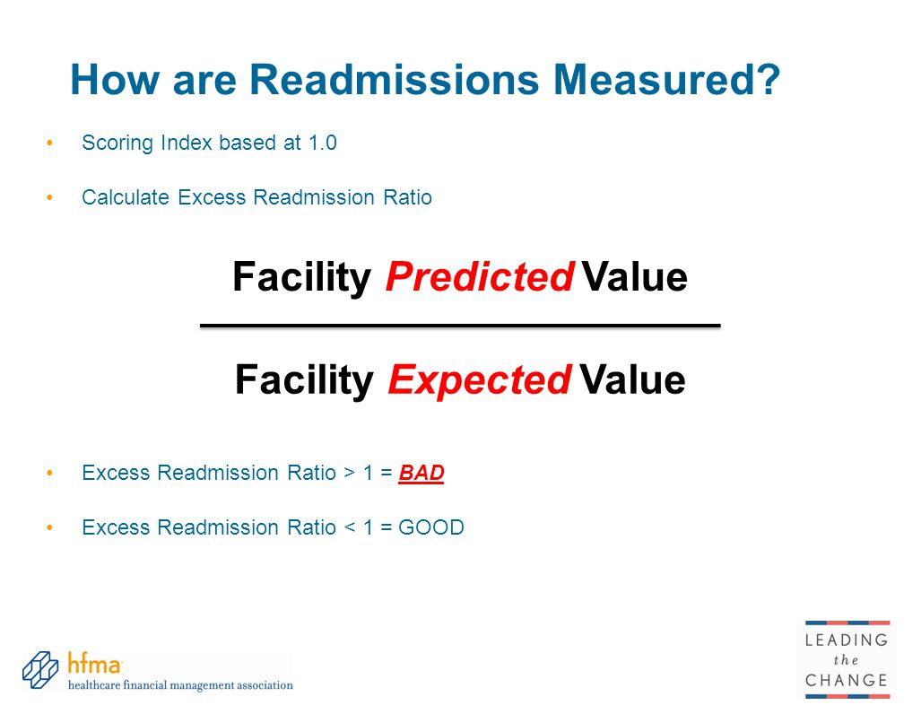 How are Readmissions Measured