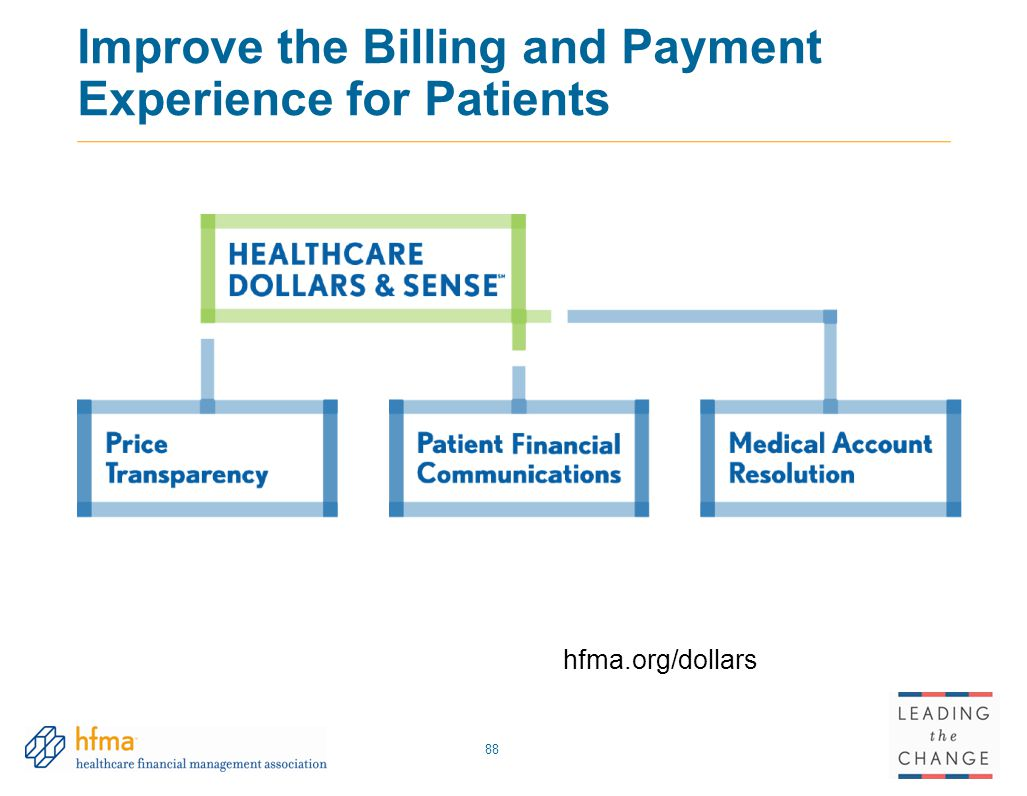 Improve the Billing and Payment Experience for Patients