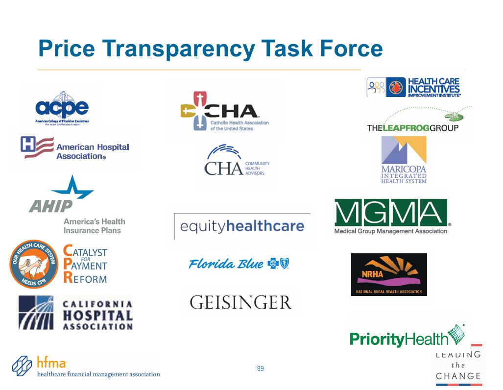 Price Transparency Task Force