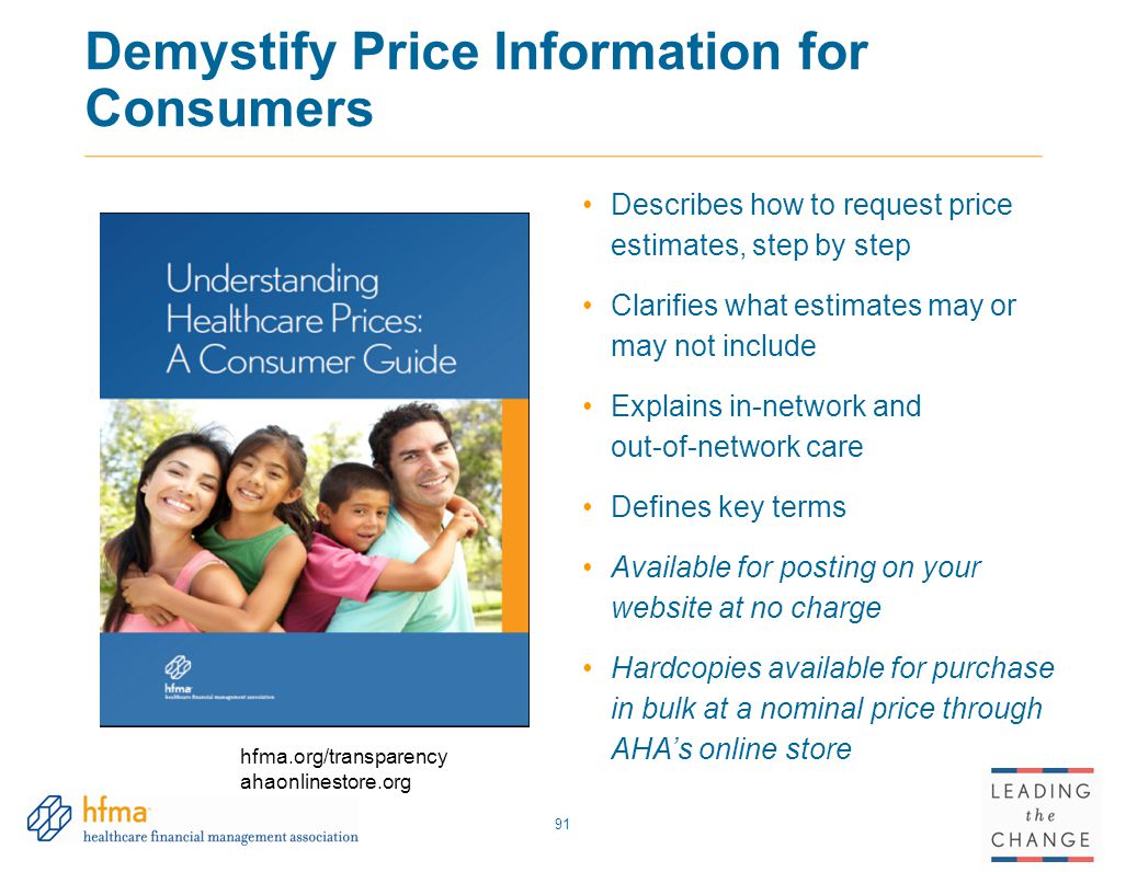 Demystify Price Information for Consumers