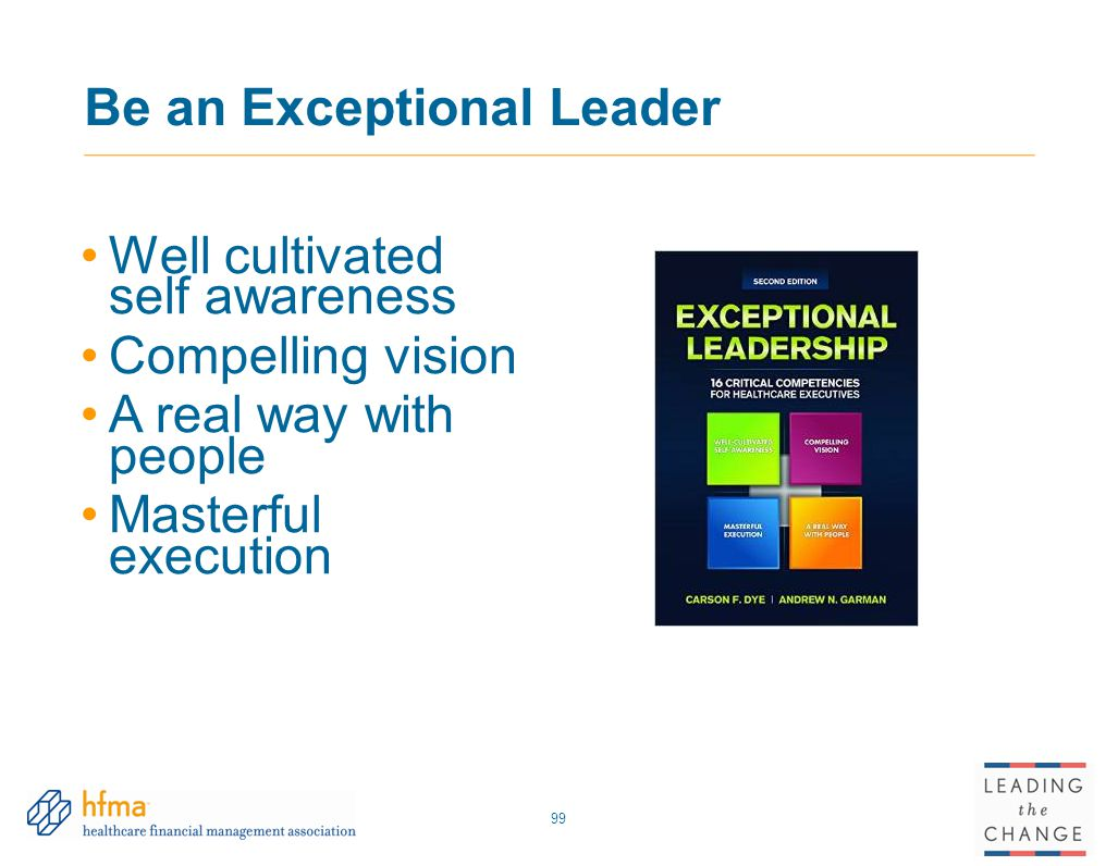 Be an Exceptional Leader
