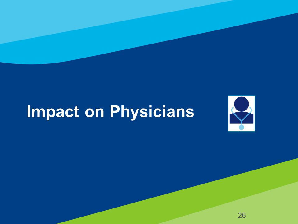 Impact on Physicians