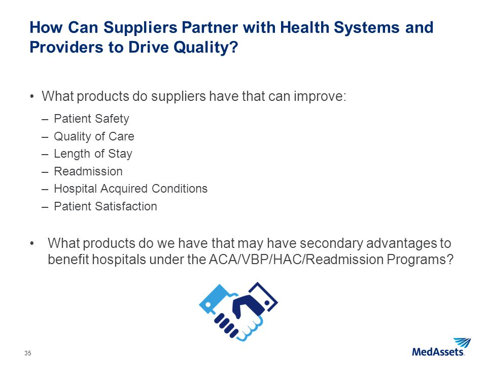 How Can Suppliers Partner with Health Systems and Providers to Drive Quality