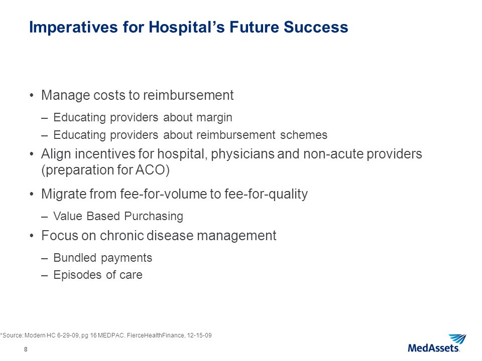 Imperatives for Hospital's Future Success