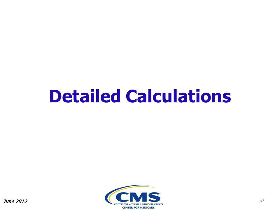 Detailed Calculations