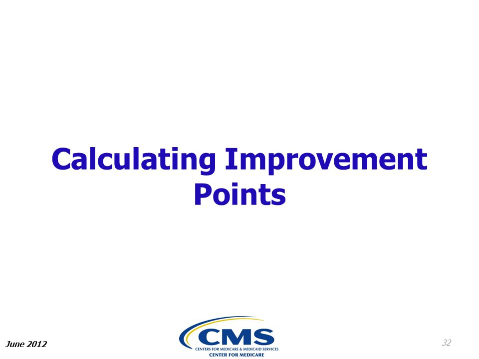 Calculating Improvement Points