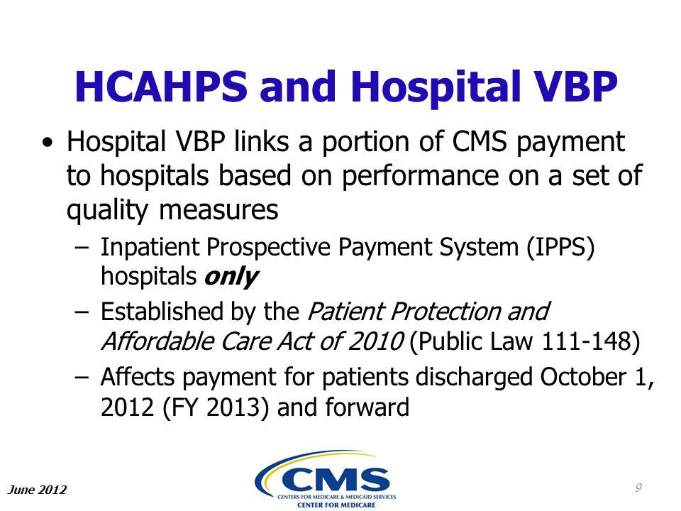 HCAHPS and Hospital VBP