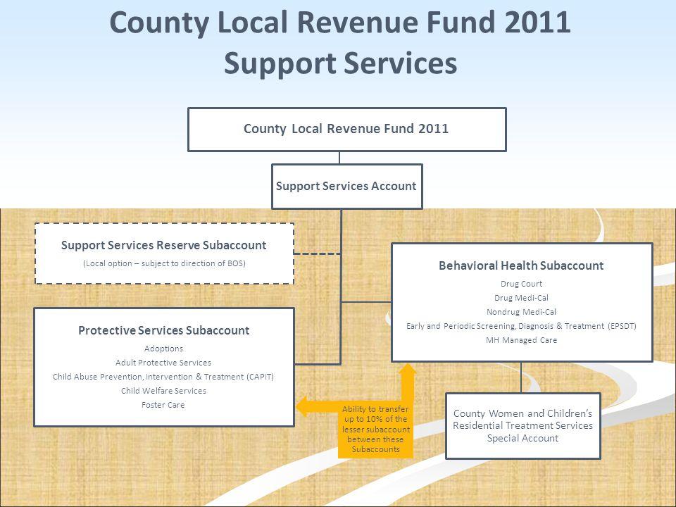 County Local Revenue Fund 2011