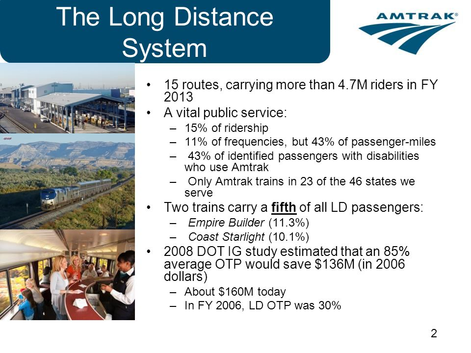 The Long Distance System