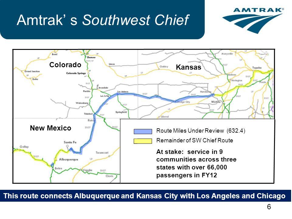 Amtrak' s Southwest Chief