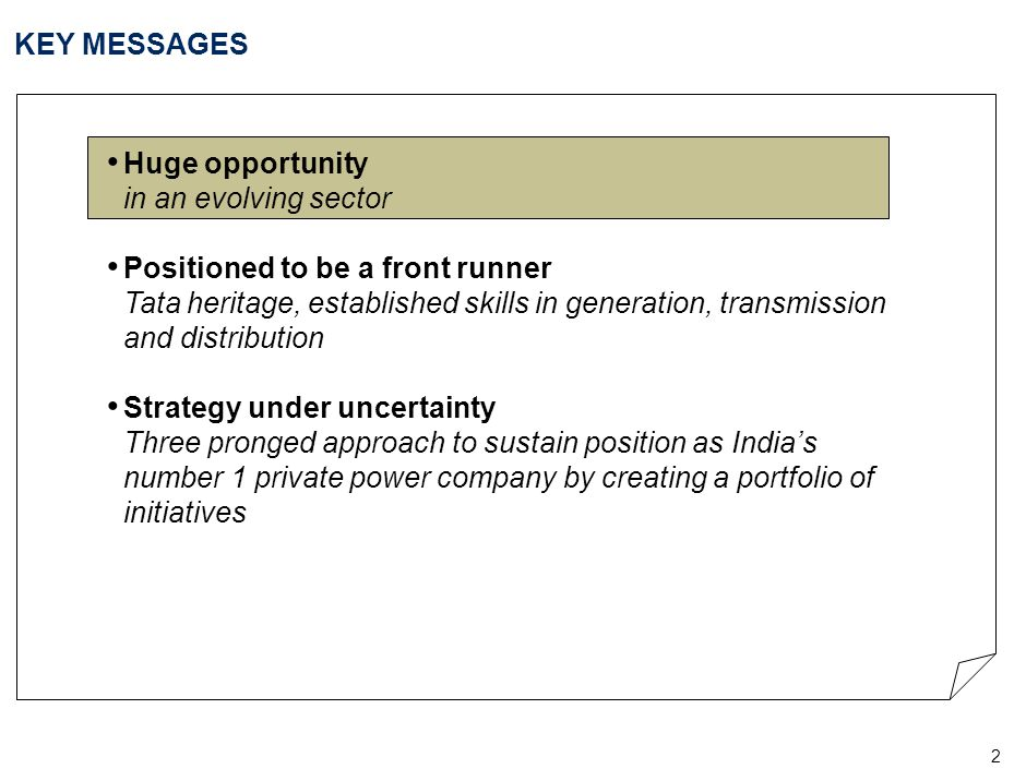 INDIAN POWER SECTOR IS FUNDAMENTALLY ATTRACTIVE