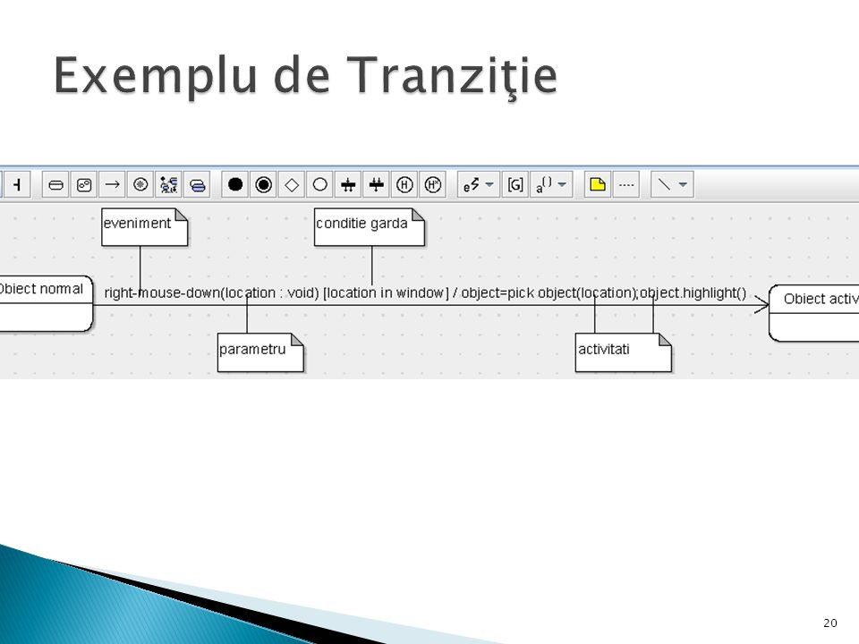 Exemplu de Tranziţie