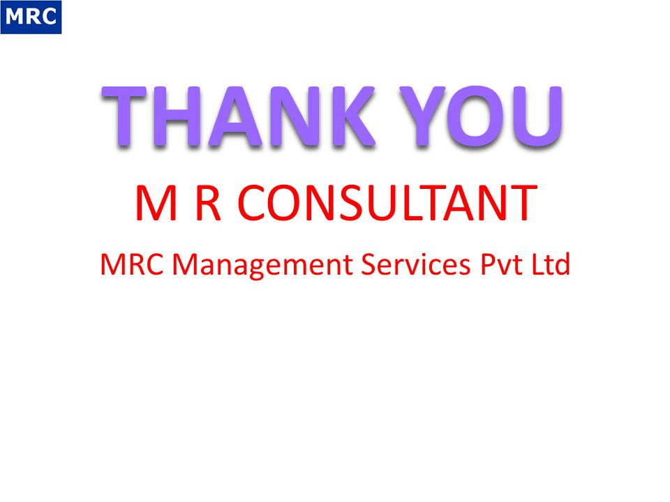 MRC Management Services Pvt Ltd