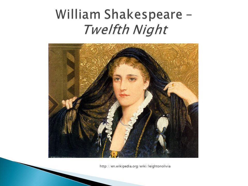 William Shakespeare – Twelfth Night