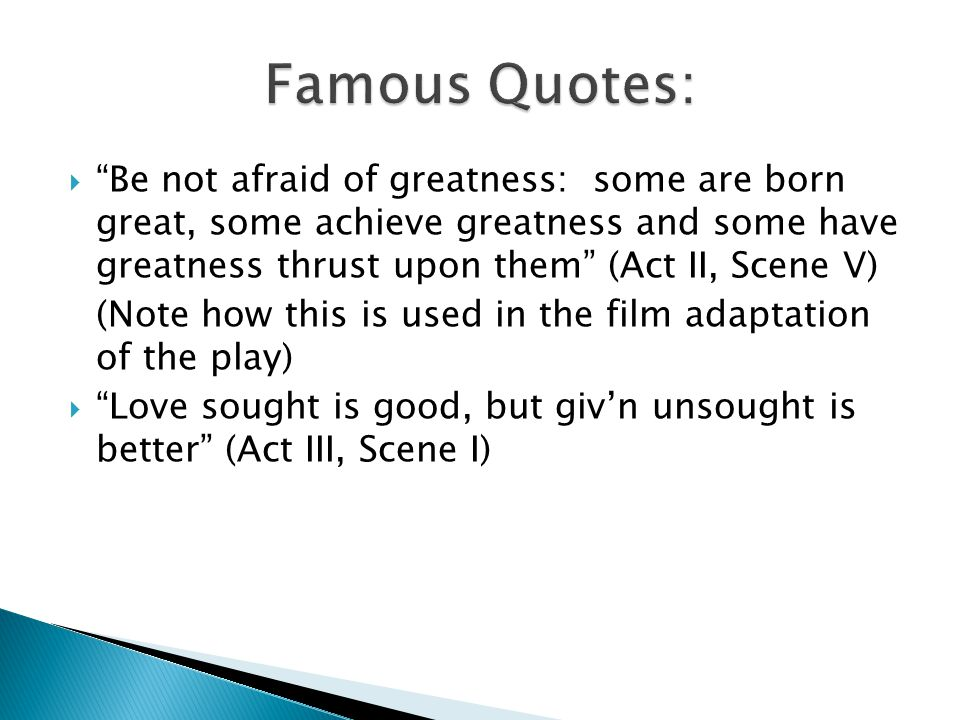 Famous Quotes:
