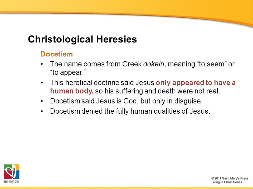 Christological Heresies
