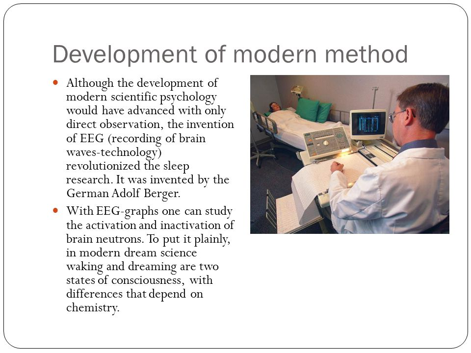 Development of modern method