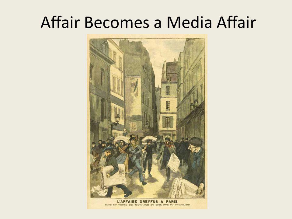 Affair Becomes a Media Affair