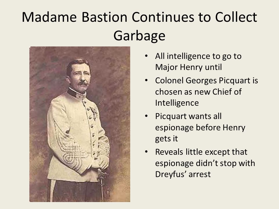 Madame Bastion Continues to Collect Garbage