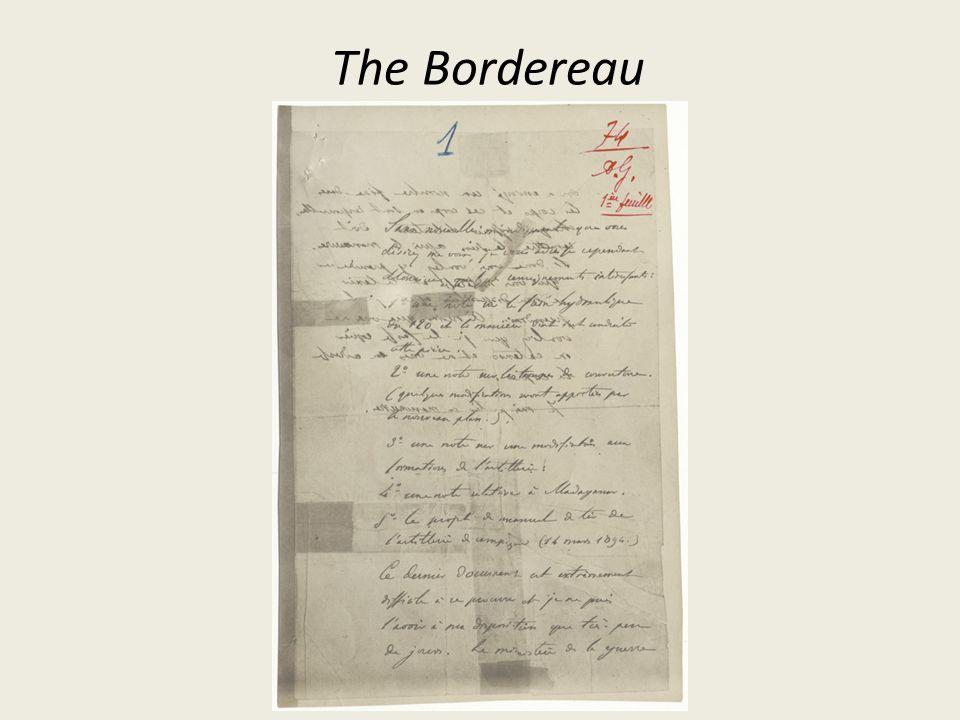 The Bordereau