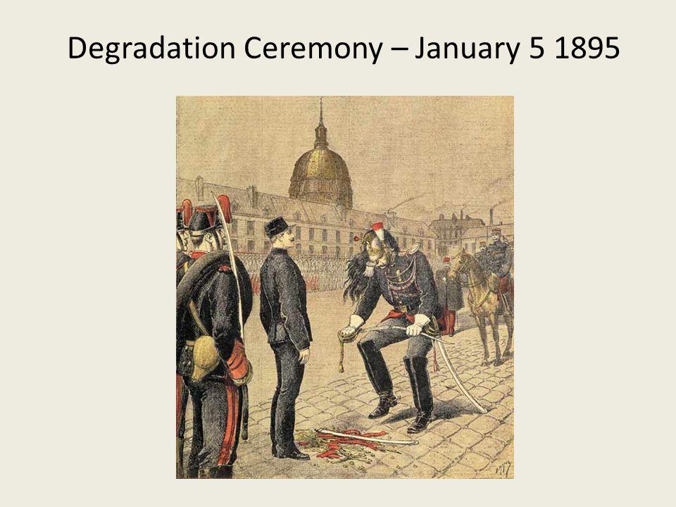 Degradation Ceremony – January 5 1895