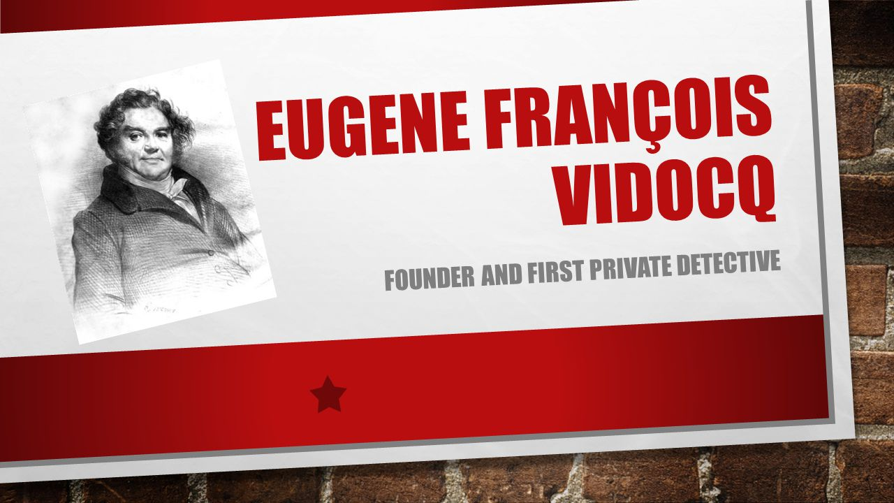 Eugene François Vidocq