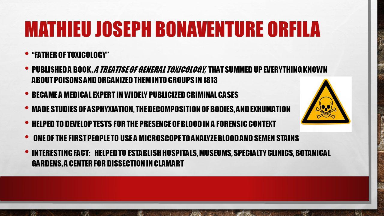 Mathieu Joseph Bonaventure Orfila