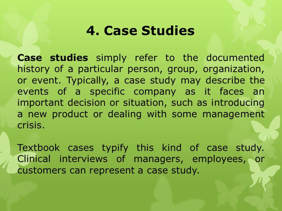 4. Case Studies