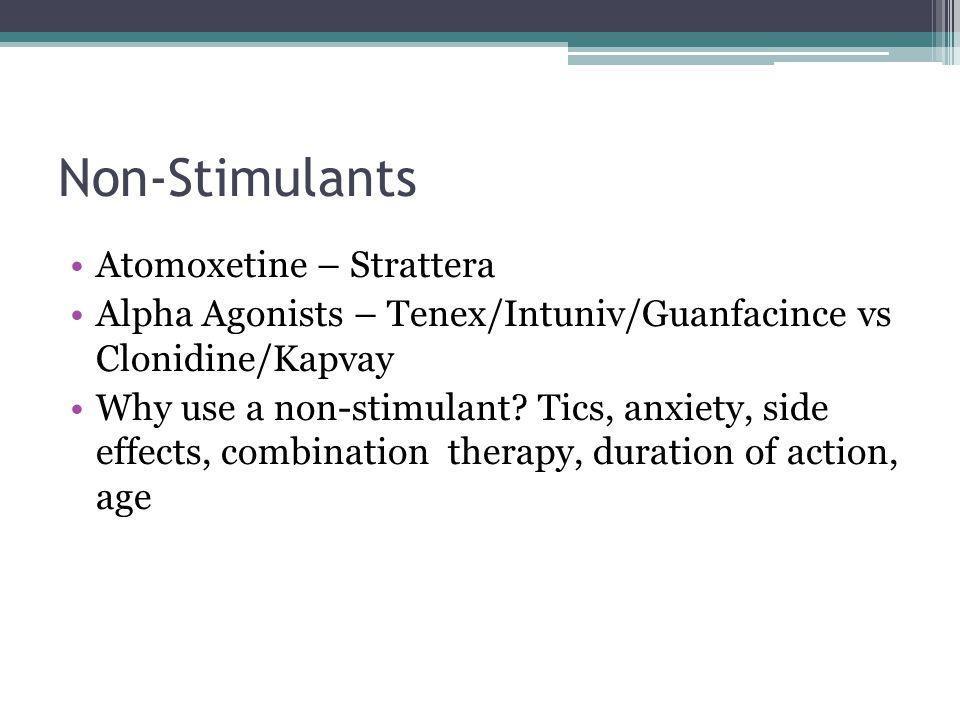 Strattera Negative Side Effects
