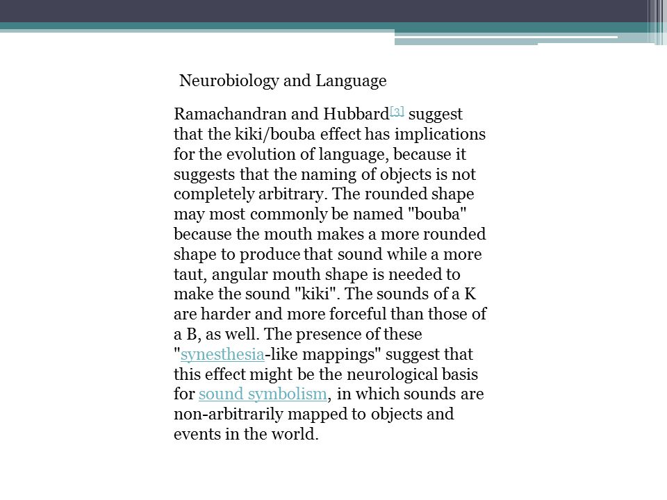 Neurobiology and Language