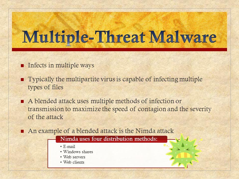 Multiple-Threat Malware