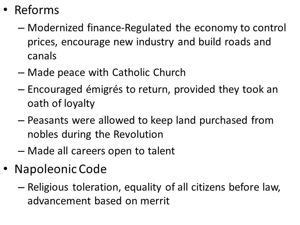 Reforms Napoleonic Code