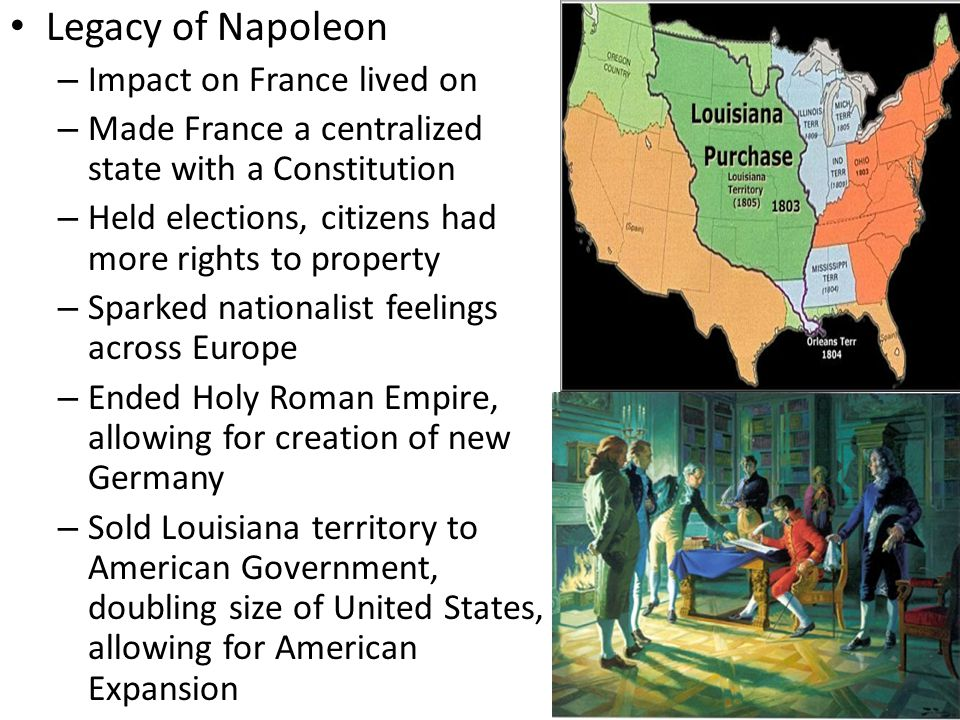 Legacy of Napoleon Impact on France lived on