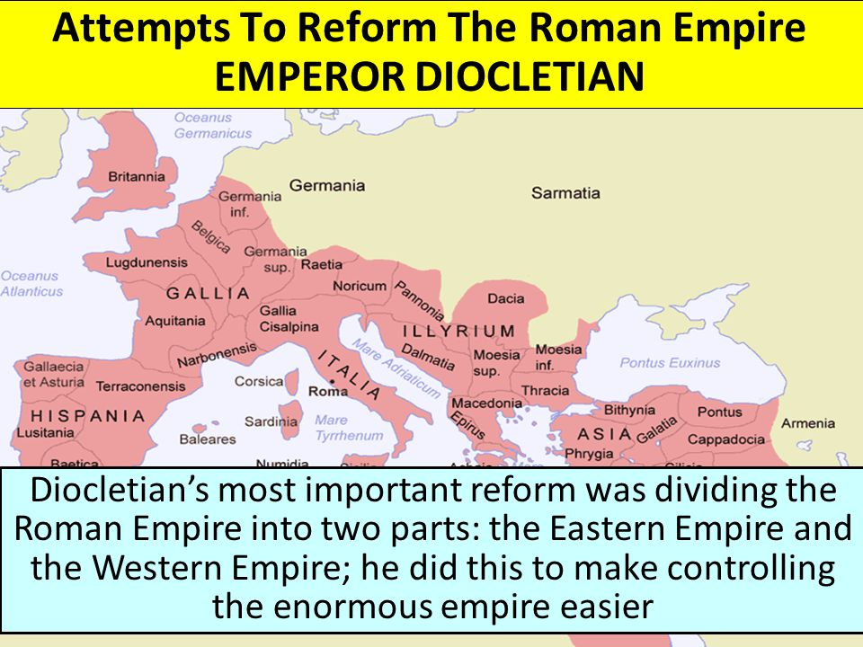 Attempts To Reform The Roman Empire