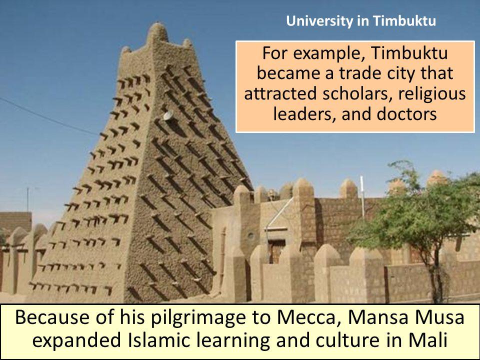 University in Timbuktu