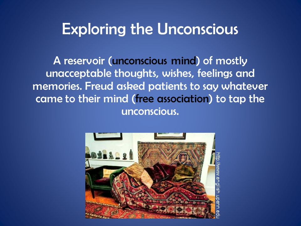 Exploring the Unconscious