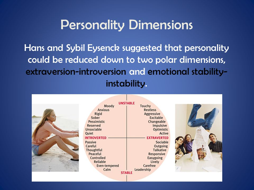 Personality Dimensions
