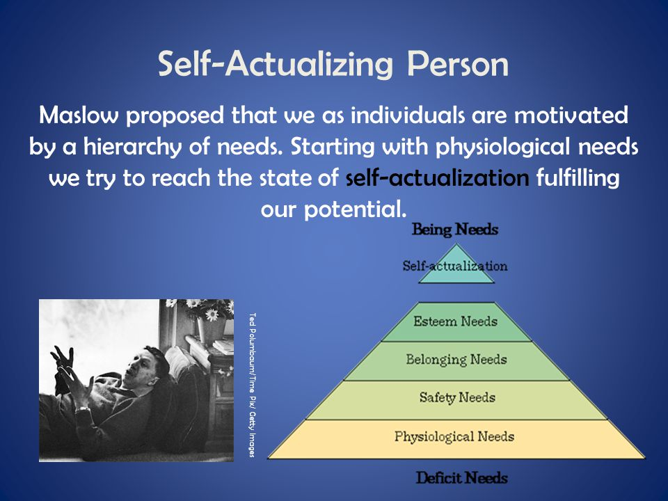 Self-Actualizing Person