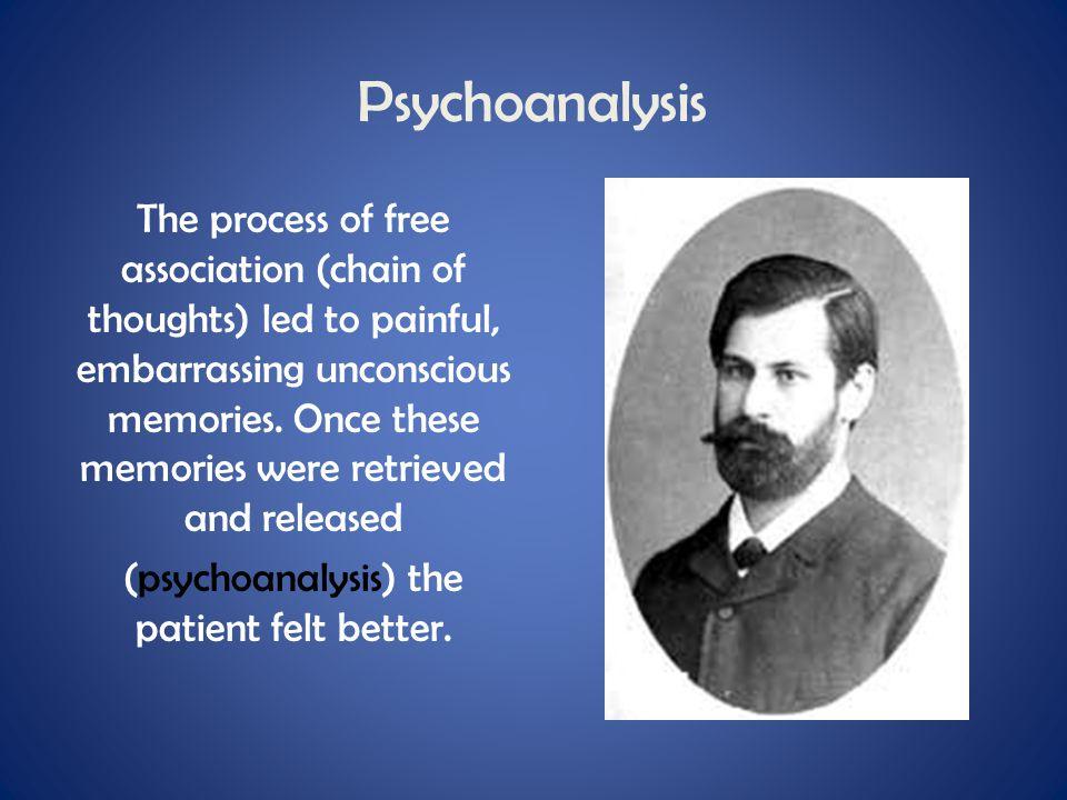 (psychoanalysis) the patient felt better.