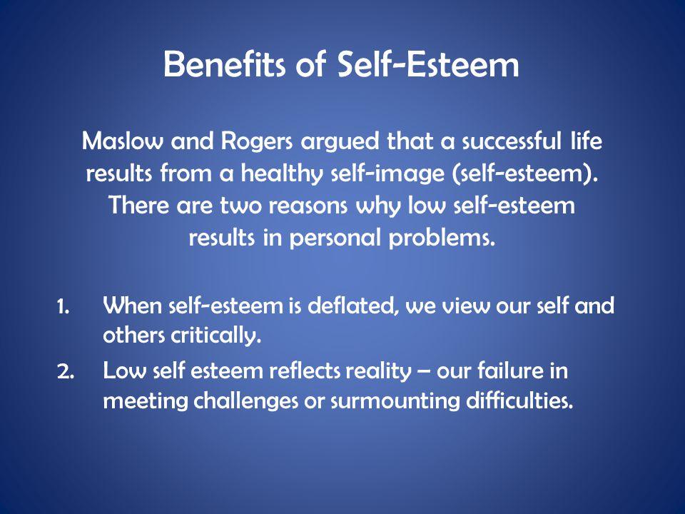Benefits of Self-Esteem