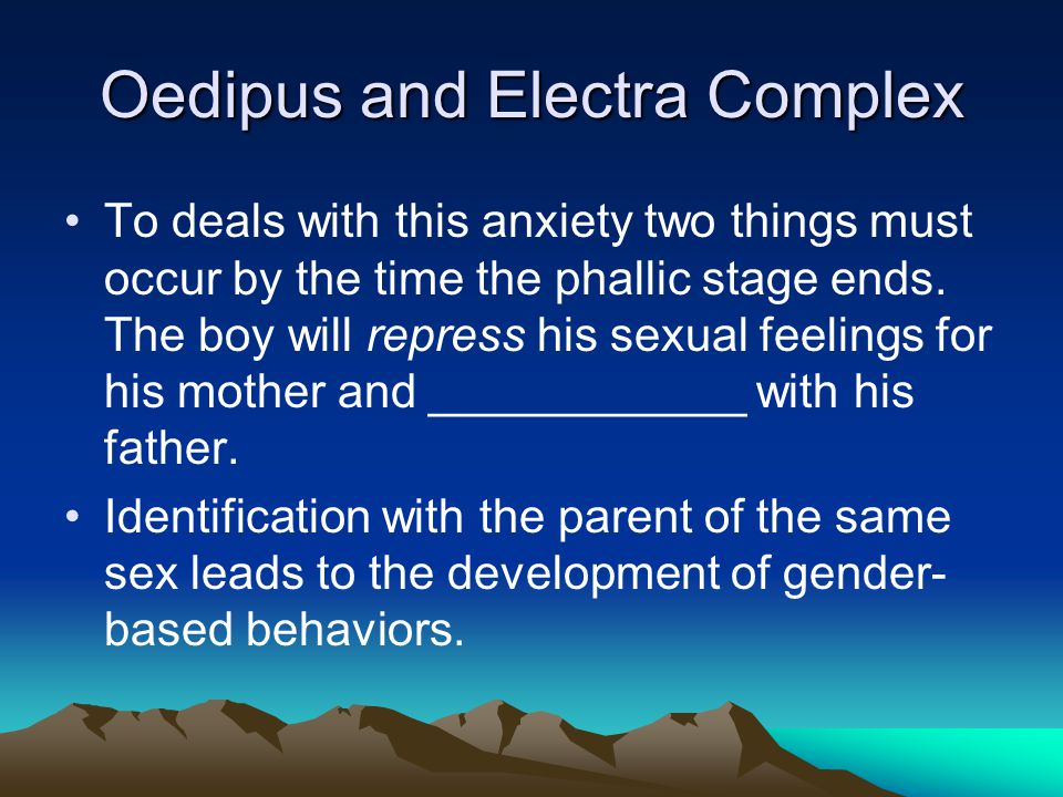 Oedipus and Electra Complex