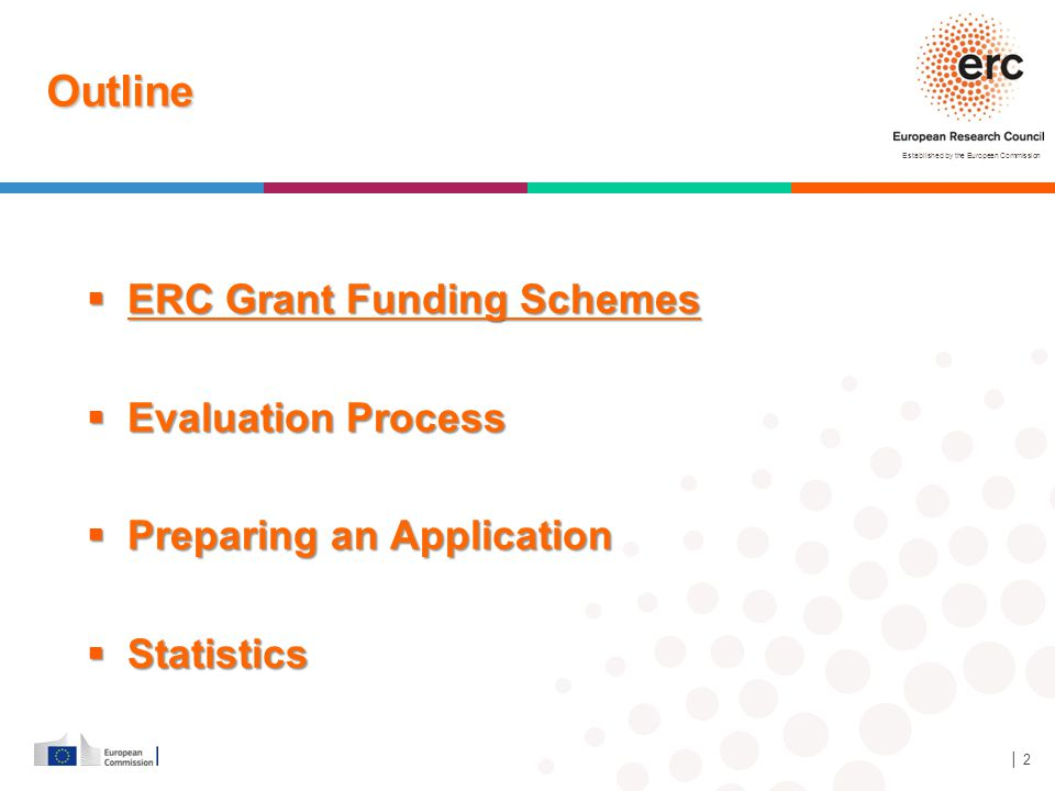 Outline ERC Grant Funding Schemes Evaluation Process