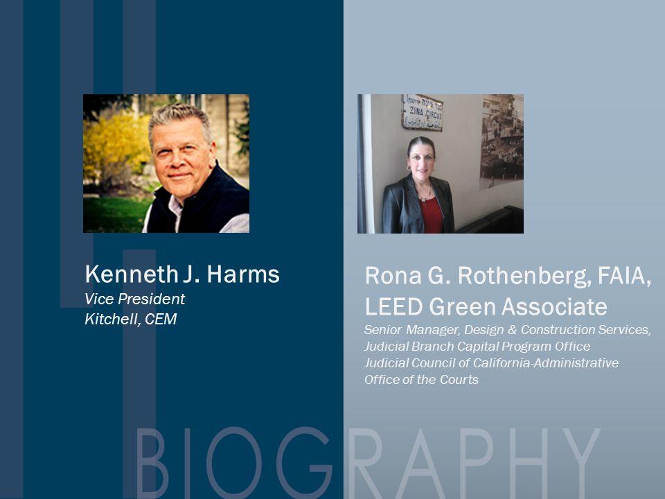 Rona G. Rothenberg, FAIA, LEED Green Associate